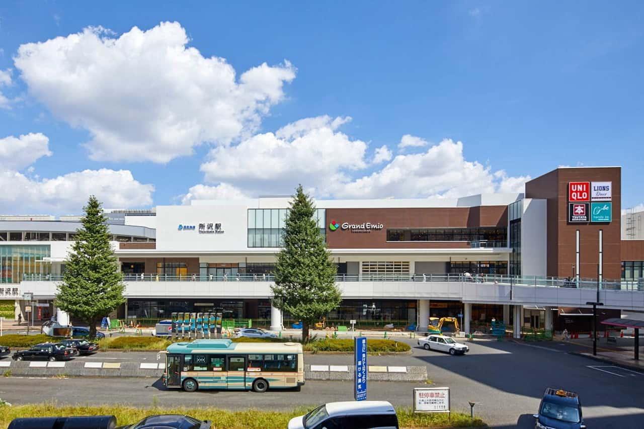 Grand Emio TOKOROZAWA ที่สถานีโทโคโรซาวะ