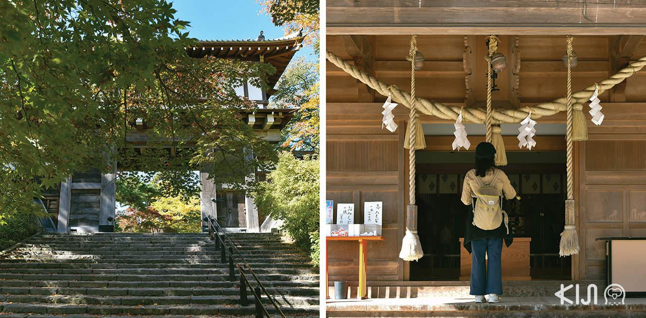 เที่ยว 3 จังหวัดในโทโฮคุตอนเหนือ (อาโอโมริ อิวาเตะ และอาคิตะ) ด้วยบัตรโดยสาร JR East Pass - Akita City ที่เที่ยวตามเส้นทางเดินรถไฟขบวน Resort Shirakami