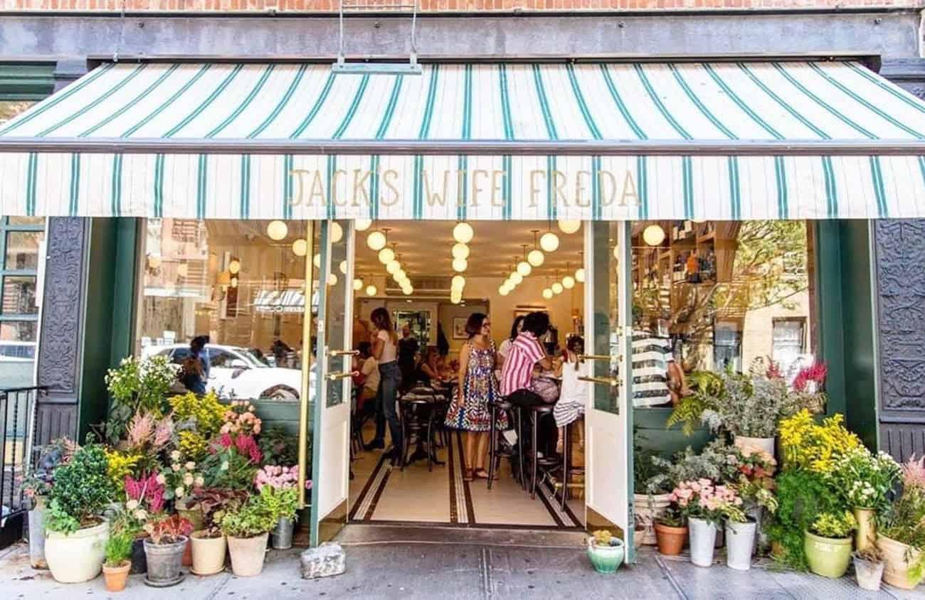 TOKYO Mizumachi ทางฝั่ง West Zone (อาซากุสะ) - Jack's Wife Freda ร้านอาหารยอดนิยมจากนิวยอร์ก