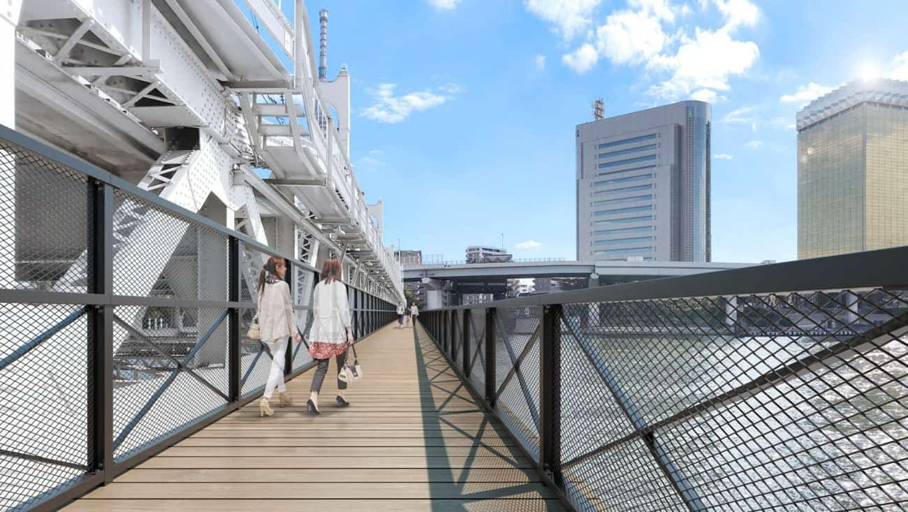 TOKYO Mizumachi มาพร้อมด้วย Sumida River Walk ทางเดินริมน้ำแห่งใหม่ที่เชื่อมต่อระหว่างอาซากุสะกับโตเกียวสกายทรี
