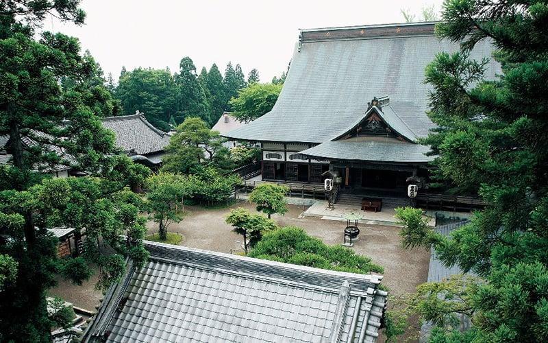 วิหารหลักฮอนโด (Hondō Main Hall) ของ Chusonji Temple