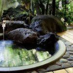 open air bath captions