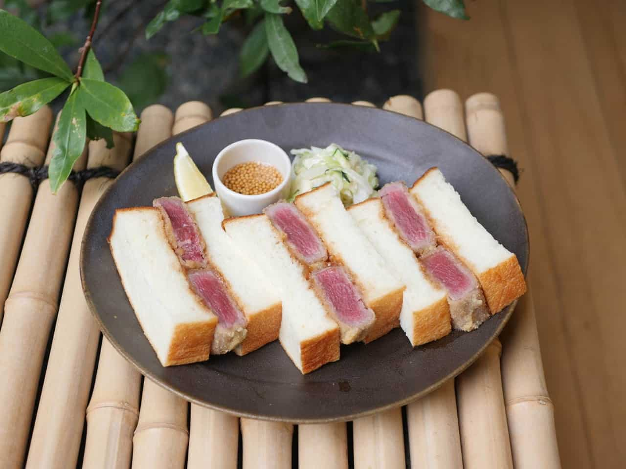 Honjitsu no (本日の) - แซนด์วิชเนื้อวัวทอด เมนูซิกเนเจอร์ของร้าน