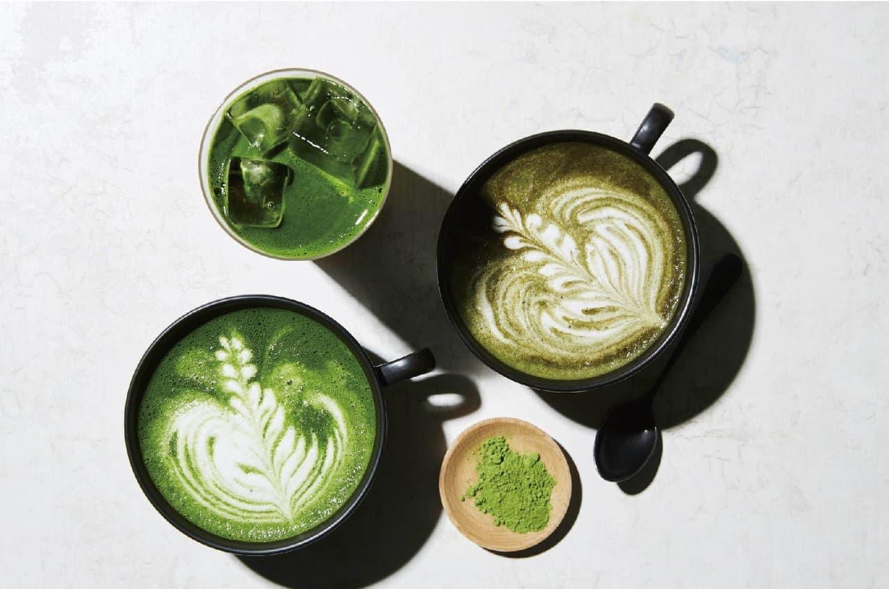 เครื่องดื่มชาเขียวของ IYEMON Cafe