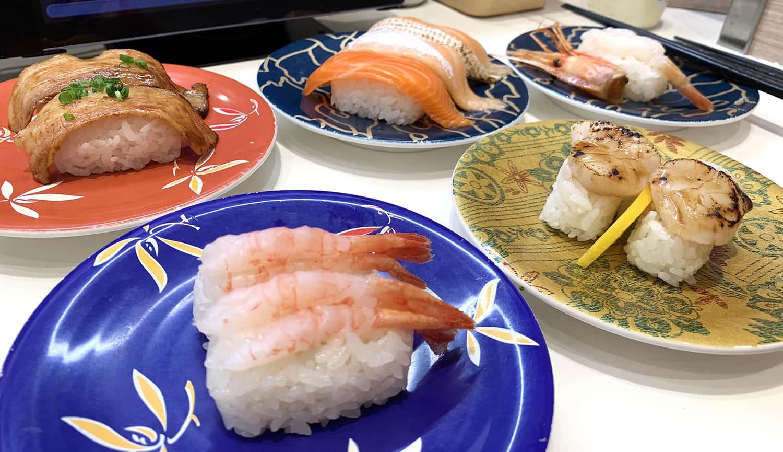 ร้านซูชิสายพานอร่อย ในญี่ปุ่น