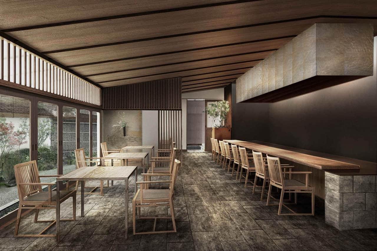 ร้านอาหาร Tsukikage พร้อมให้บริการใน YUEN BETTEI DAITA