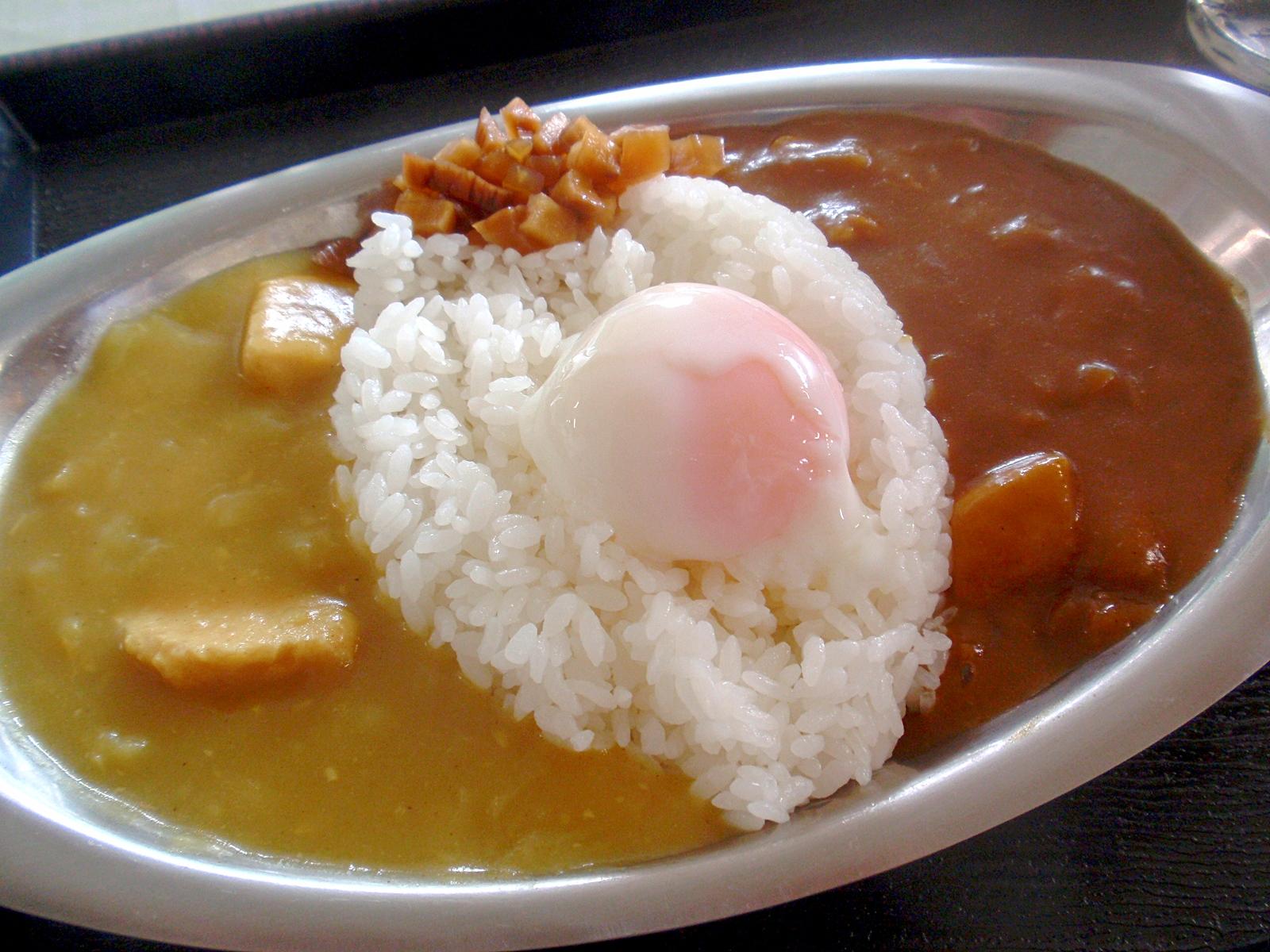 แกงกะหรี่ ญี่ปุ่น : แกงกะหรี่ไองาเกะจินได (Aigake Jindai Curry) จ.อาคิตะ (AKITA)