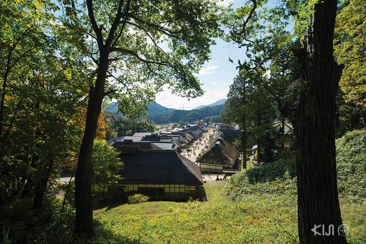 JR East Pass ยามากาตะ ฟุกุชิมะ และมิยากิ กับที่เที่ยวตามเส้นทางของรถไฟ Fruitea Fukushima - Ouchi-juku