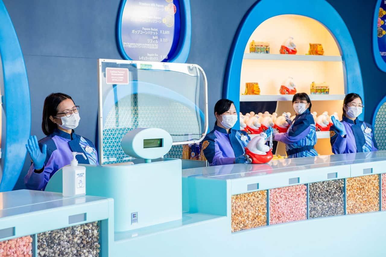 The Big Pop ร้านขายป๊อปคอร์นใน Tokyo Disney Resort