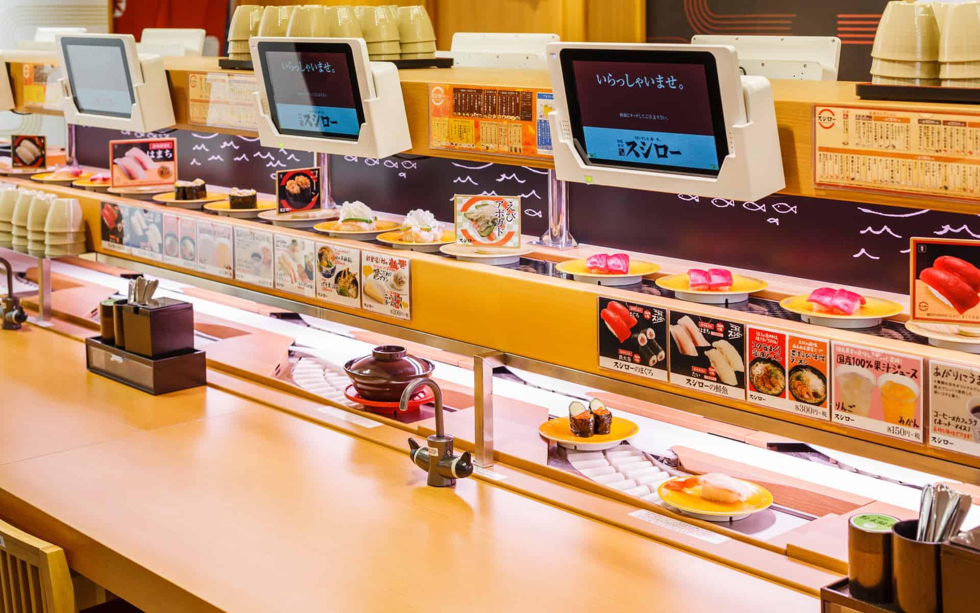 ซูชิโร่ (Sushiro) เป็นแบรนด์ ซูชิสายพาน ที่ครองใจคนญี่ปุ่นมาแล้วถึง 547 สาขาทั่วประเทศ