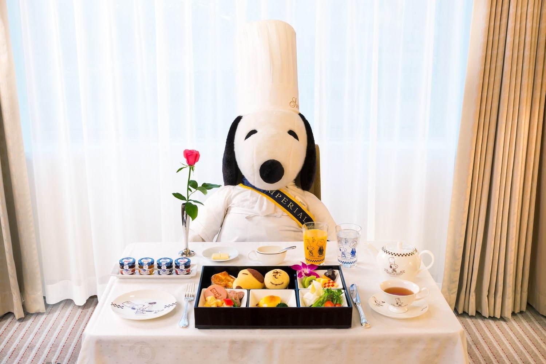 BENTO STYLE เซ็ตอาหารเช้าข้าวกล่อง Grand Chef SNOOPY
