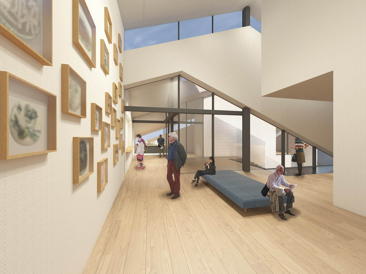 ภาพจำลองภายใน YOKU MOKU MUSEUM