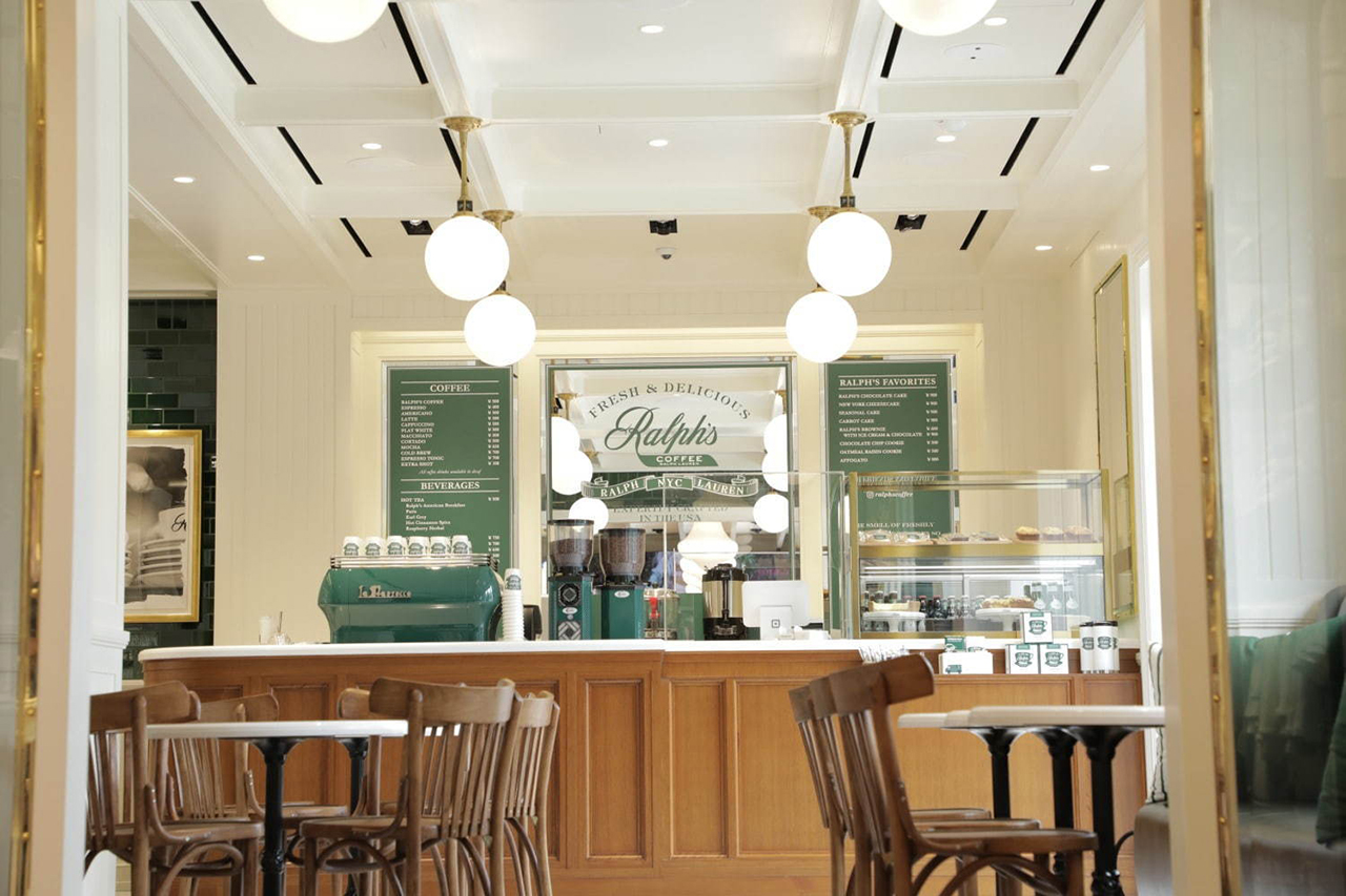 ร้านกาแฟ Ralph's Coffee ที่ RAYARD Hisaya-odori Park