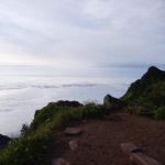 mountain rishiri-peak view-hokkaido-japan