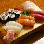 nigiri lunch set-oban sushi honten-shinjuku-tokyo