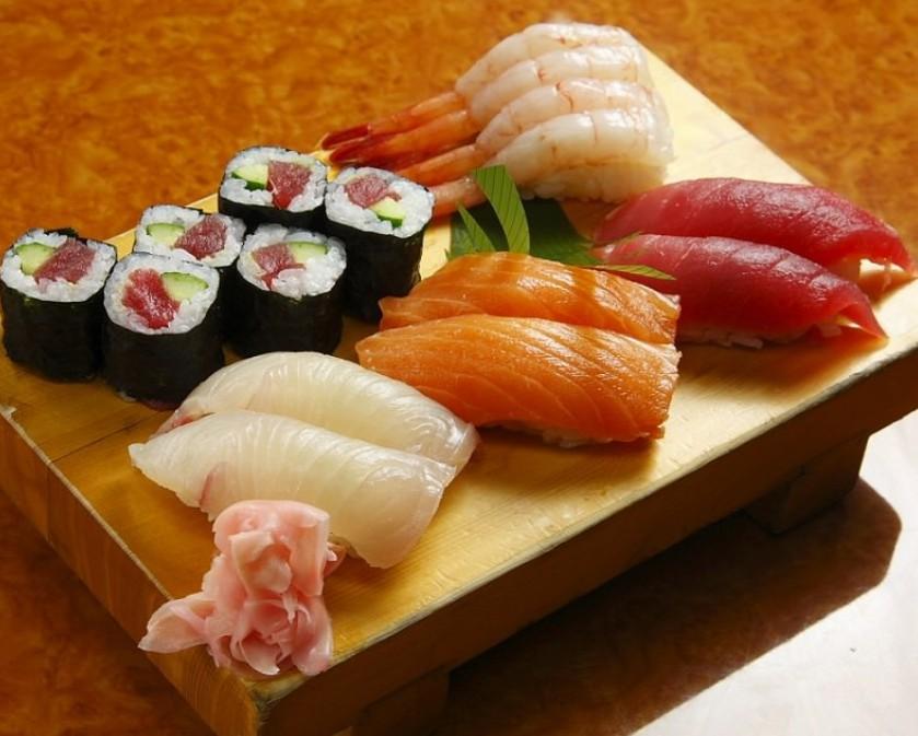 ร้าน ซูชิ ถูกและดี : Obanzushi Honten ย่านชินจูกุ จ.โตเกียว