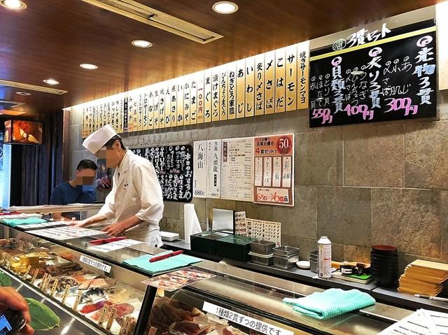 ร้านซูชิ Sushi Uogashi ย่านชิบูย่า จ.โตเกียว