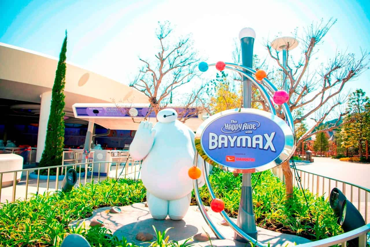The Happy Ride with Baymax เครื่องเล่นใหม่ล่าสุดจาก Tokyo Disneyland