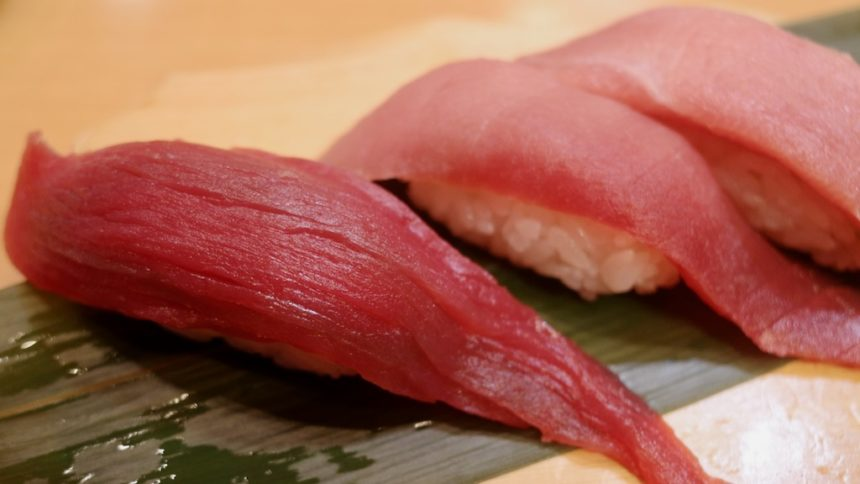 ซูชิ ถูกและดี ที่ร้าน Sushi Uogashi ย่าน Shibuya จ.โตเกียว