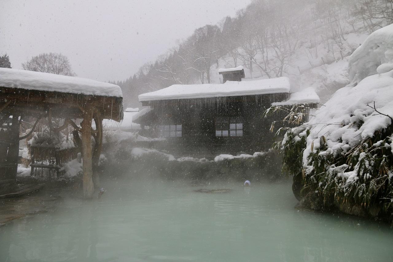 เที่ยว Nyuto Onsen ฤดูหนาว กับ JR East โทโฮคุ