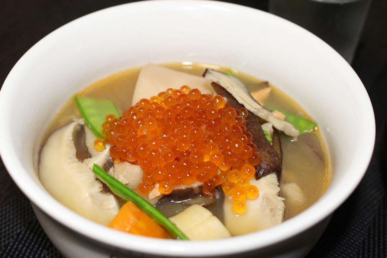 อาหารพื้นบ้าน อาหารท้องถิ่น จ.นีงาตะ - นปเปจิรุ (Noppei-jiru)