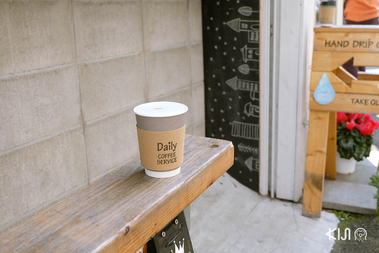 เมนูกาแฟของ Daily Coffee Service คาเฟ่ ใน เซนได