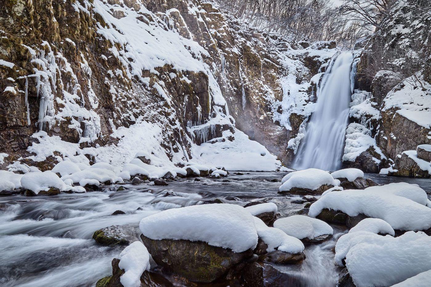 เที่ยวไรไรเคียว (Rairaikyo Gorge) ใน โทโฮคุ ฤดูหนาว ด้วย JR East Pass