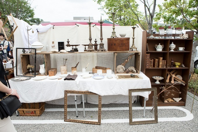 สินค้าที่วางจำหน่ายใน Daikanyama Antique Market