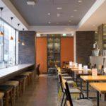 Paper Back Cafe interior-coffee shop-jimbocho book town-tokyo