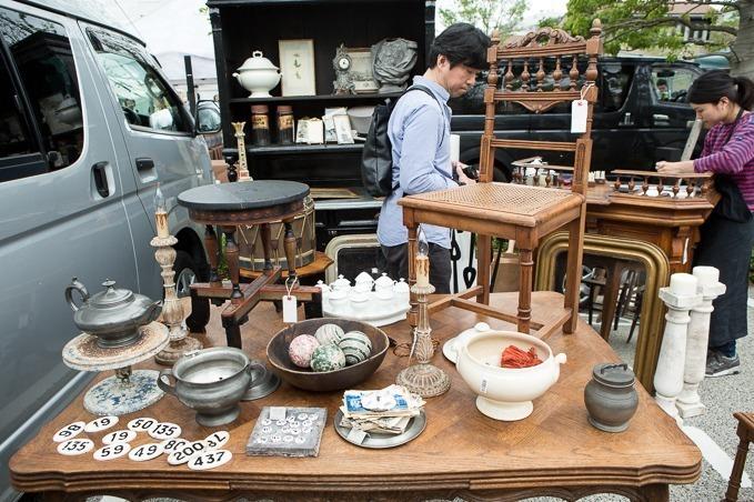 ของเก่าสุดคลาสิกในงาน Daikanyama Antique Market