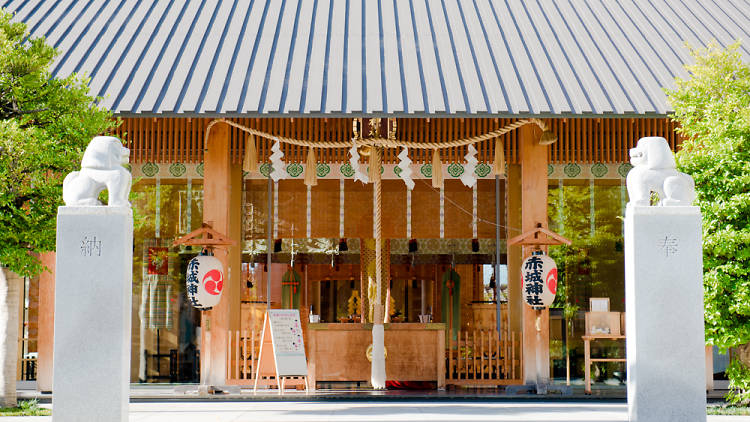 ศาลเจ้าเก่าแก่ Akagi Shrine