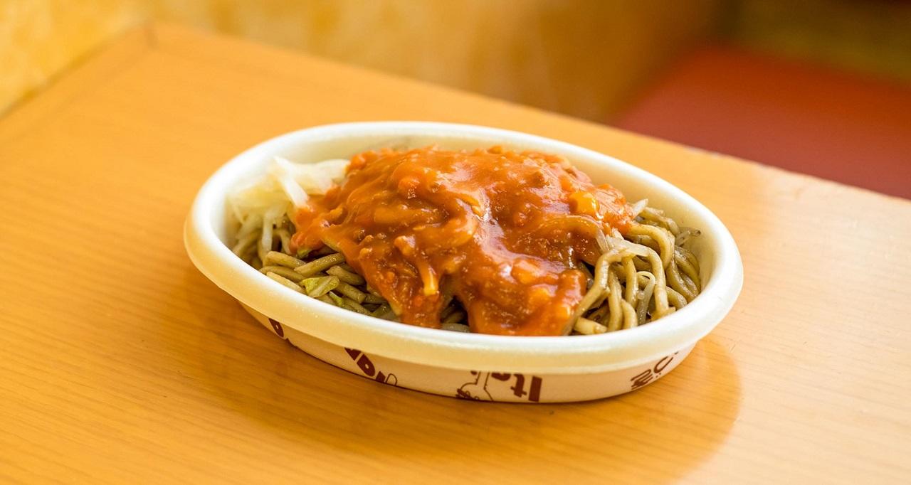 อาหารพื้นบ้าน อาหารท้องถิ่น จ.นีงาตะ - อิตาเลียนยากิโซบะ (Italian Yakisoba) เมืองนีงาตะ (Niigata)