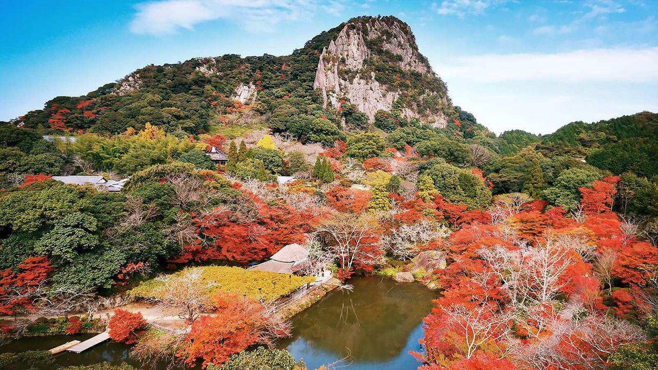 สวนมิฟุเนะยามะ ราคุเอน จังหวัดซากะ