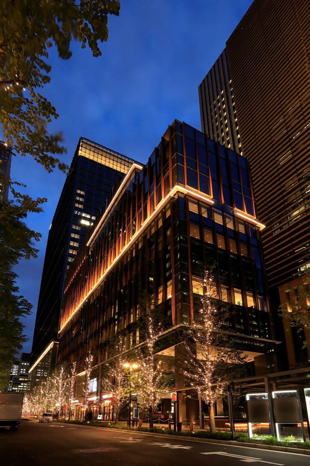 อาคาร Marunouchi Terrace ตั้งอยู่ในย่านมารุโนะอุจิ