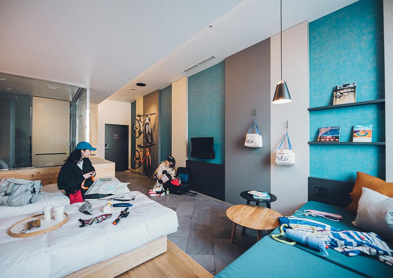 ห้องพักของ BEB5 Tsuchiura