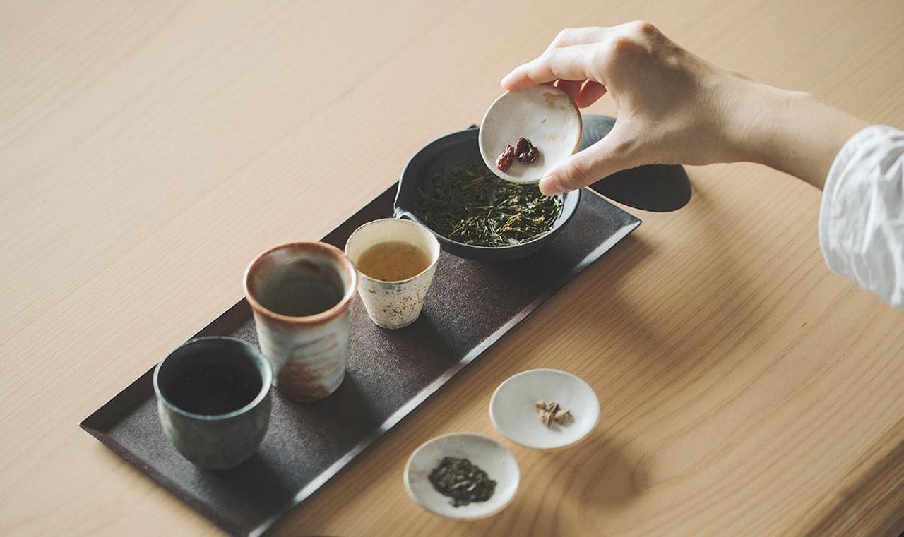 ร้านน้ำชาสุดพรีเมียมชั้นบนสุดของโรงแรม SOKI ATAMI