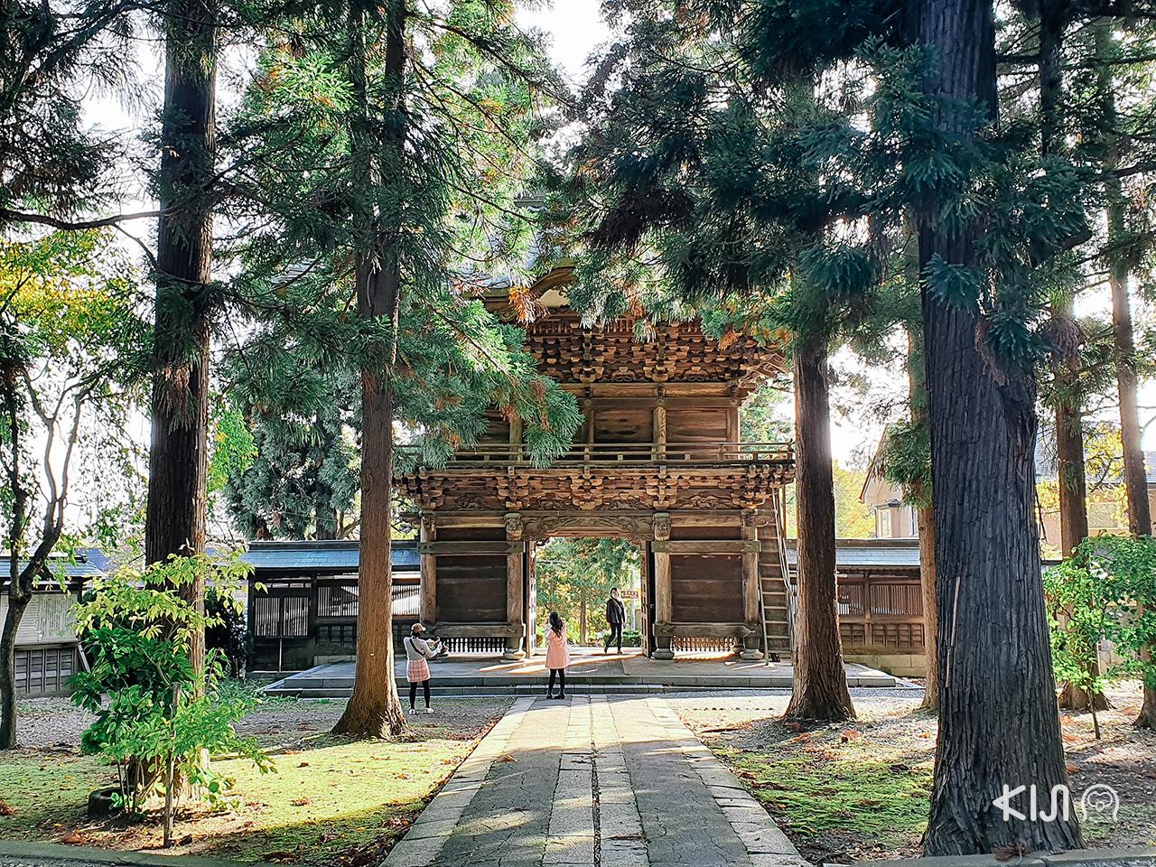 ทริป ใบไม้เปลี่ยนสี โทโฮคุ : โฮออนจิ (Hoonji Temple)
