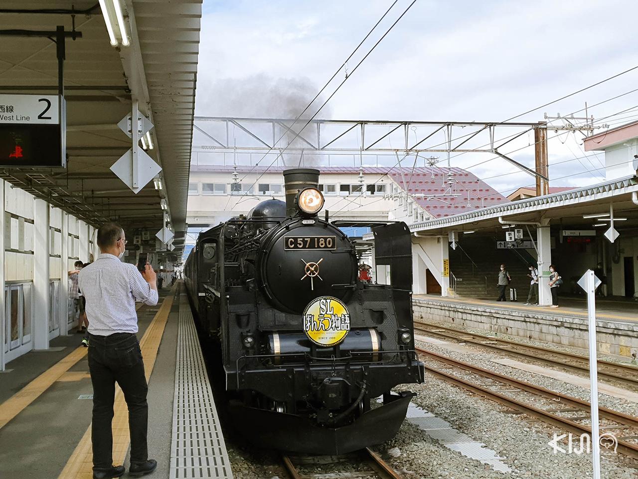 นั่งรถไฟ SL Banetsu Monogatari เที่ยวจ.ฟุกุชิมะ และจ.นีงาตะ โดย JR East Pass (Tohoku Area)