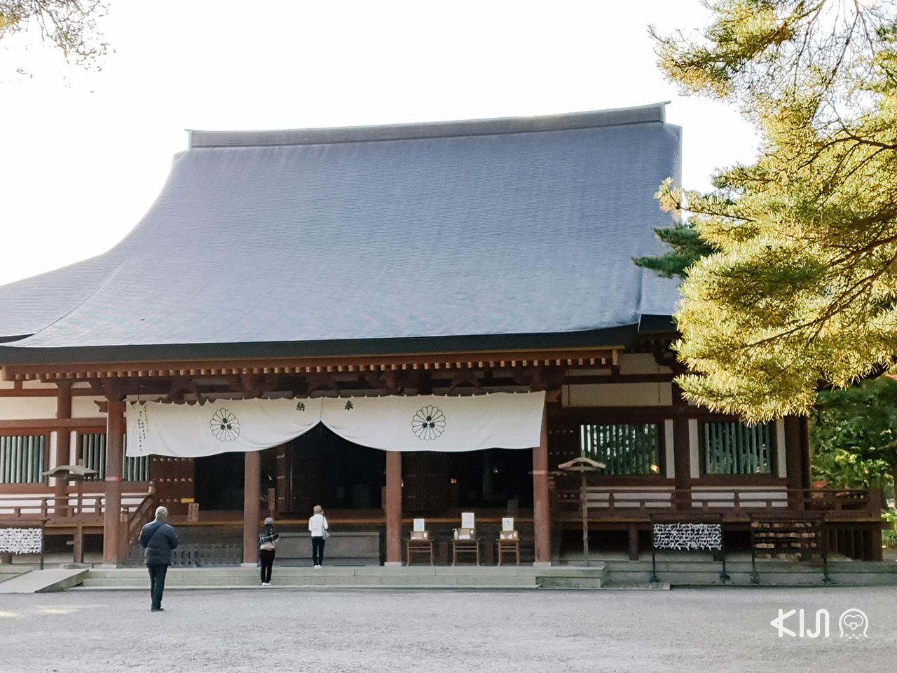 เที่ยว โทโฮคุ ช่วง ใบไม้เปลี่ยนสี พร้อมไหว้พระขอพรที่วัดโมสึจิ (Motsuji Temple)