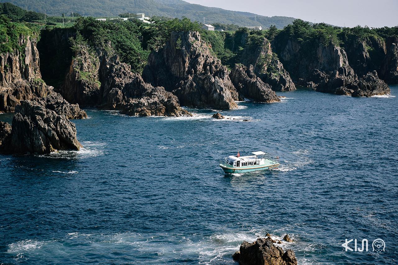 นั่งรถไฟ SL Banetsu Monogatari เที่ยว Sado Island โดย JR East Pass (Tohoku Area)