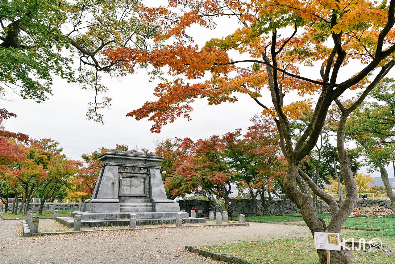 ทริปฤดู ใบไม้เปลี่ยนสี โทโฮคุ ที่ ปราสาทโมริโอกะ (Morioka Castle)