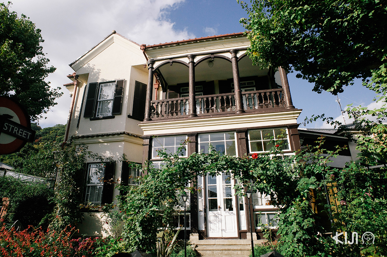 English House ในย่านคิตาโนะ อิจินคัง (Kitano Ijinkan)