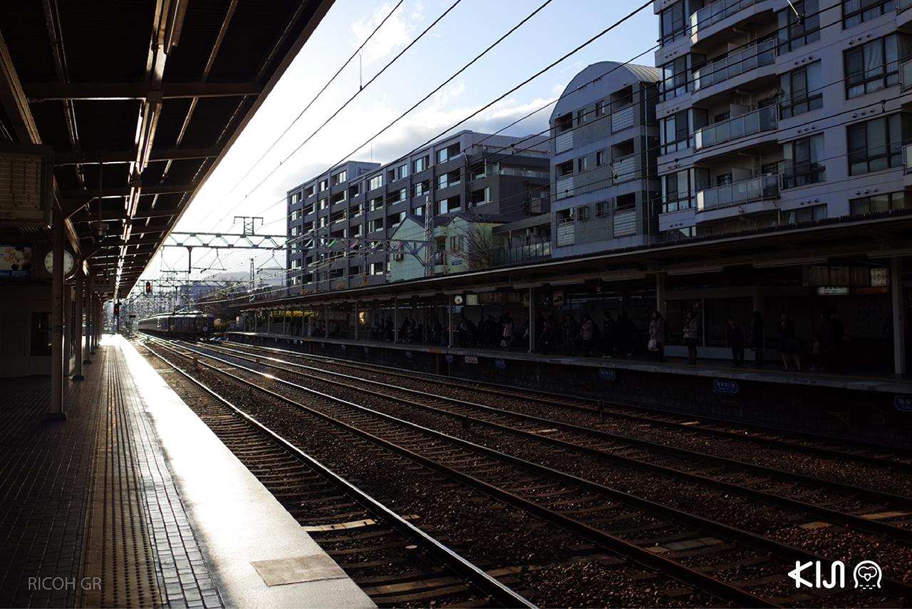 ันั่งรถไฟเที่ยวเมืองโกเบ