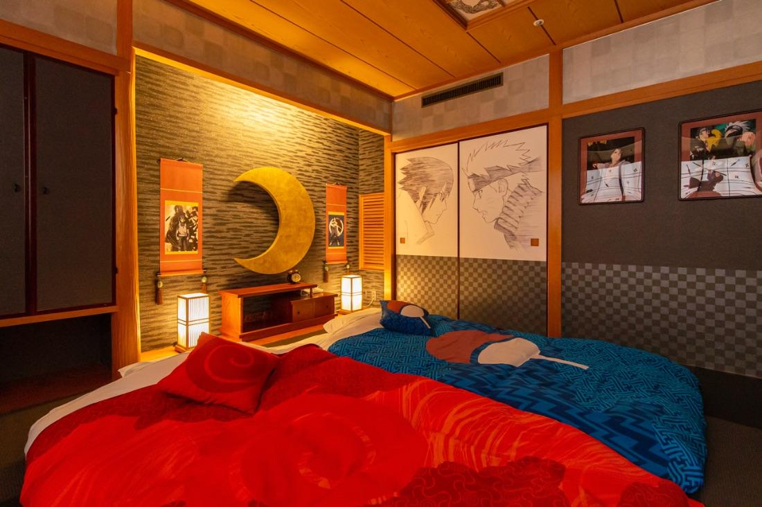 บรรยากาศภายในห้องพักของ NARUTO×BORUTO Fuji
