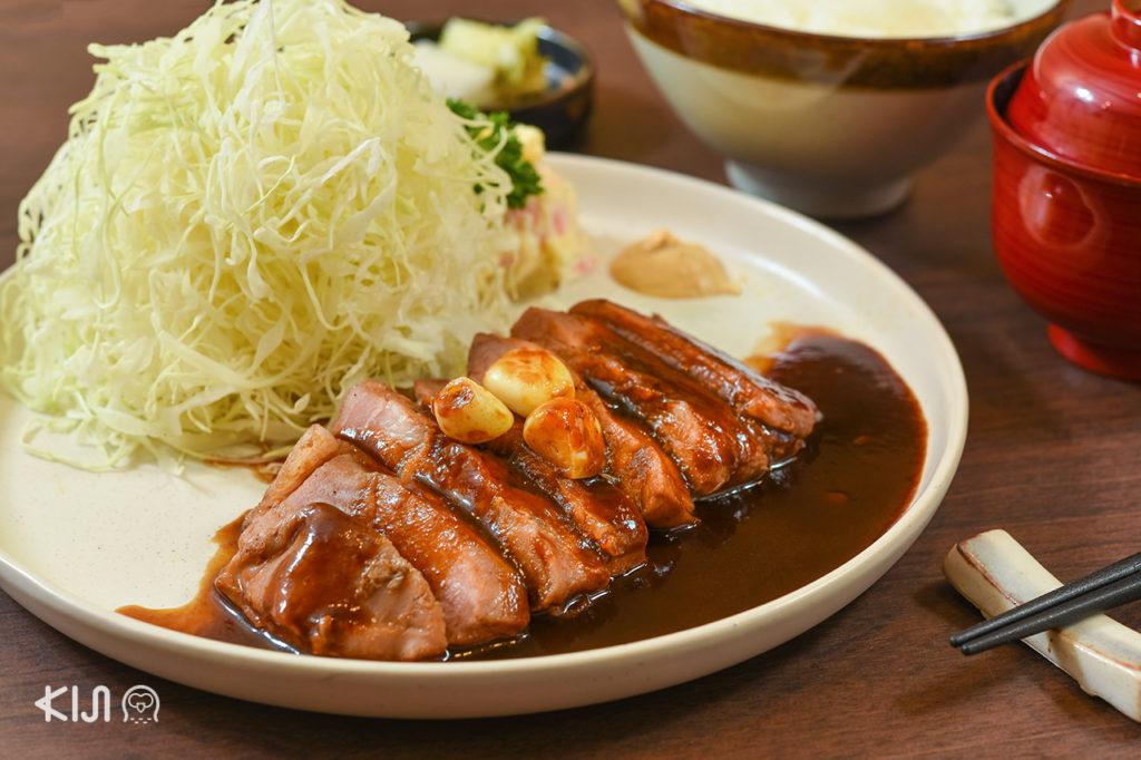 Kobe Tonteki ร้านอาหารญี่ปุ่น-ตะวันตกเฉพาะทางเน้นเสิร์ฟเมนูทงเทกิ