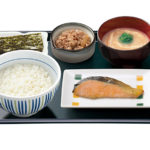 nakau-japanese fast food chain restaurant-breakfast set-japan