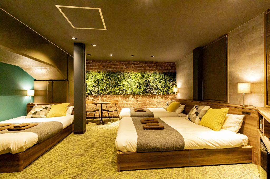 ห้องพักใน Under Railway Hotel Akihabara