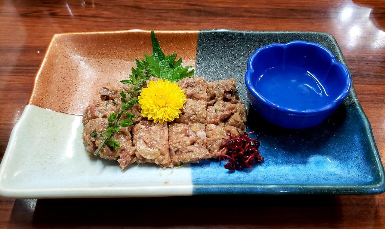 อาหารพื้นเมือง จ.ชิบะ (Chiba) - นาเมโร่ (Namero)
