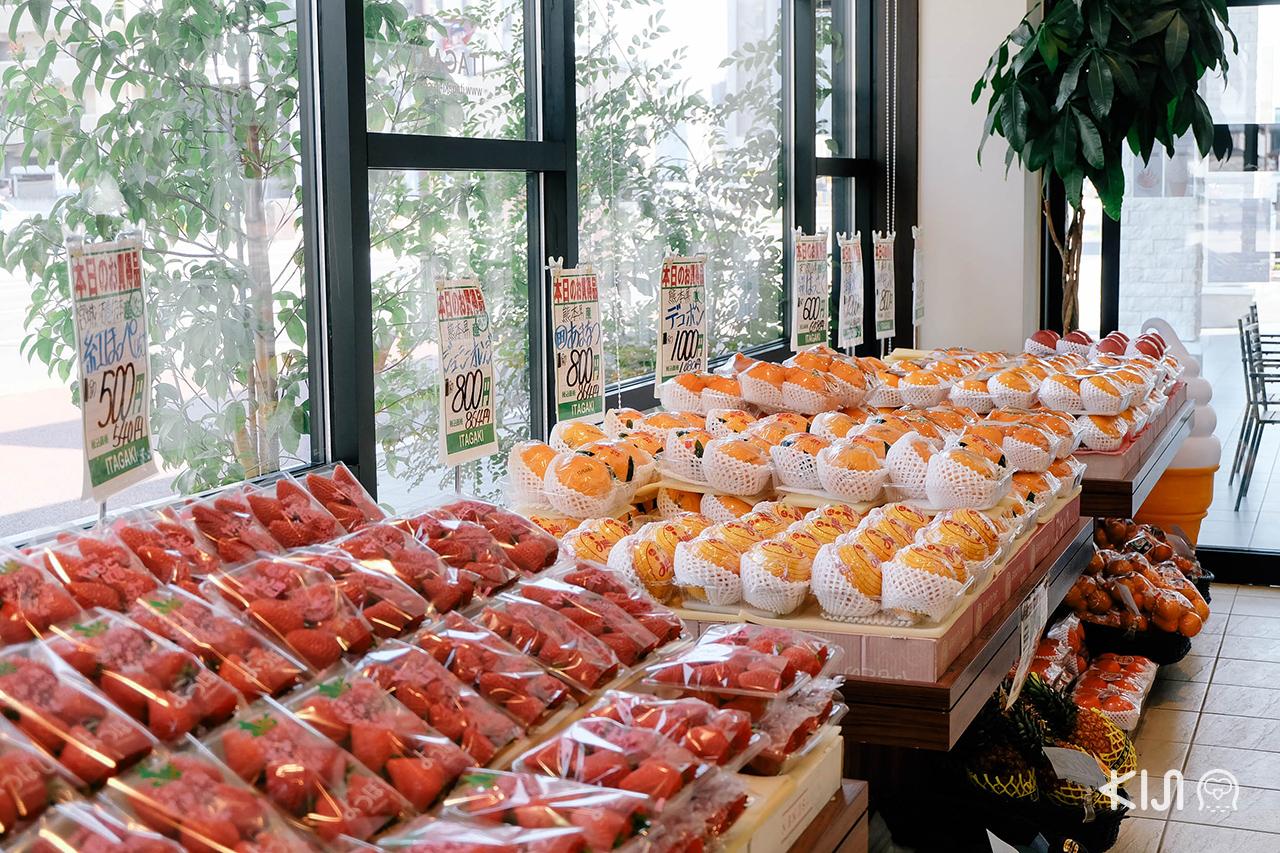 เมื่อ ชมซากุระ แล้วก็ต้องแวะคาเฟ่ผลไม้ใน มิยากิ กันซะหน่อย