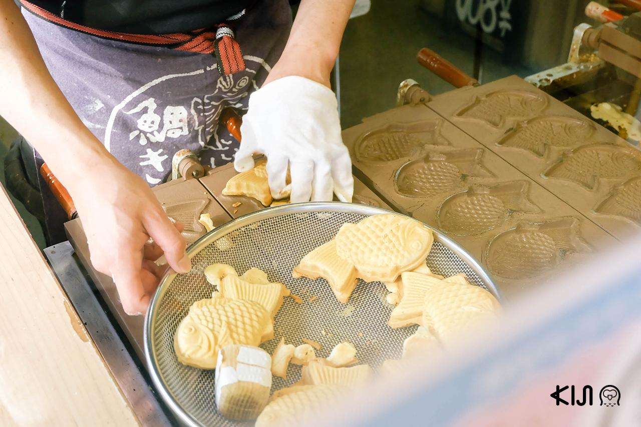 ตั้งใจจะมา ชมซากุระ ที่ มิยากิ แต่ก็ต้องมาสะดุดเข้ากับไทยากิแสนอร่อยเข้าจนได้
